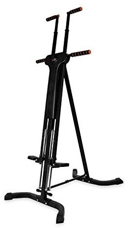 RELIFE REBUILD YOUR LIFE Vertical Climber for Home Gym Folding Exercise Cardio Workout Machine